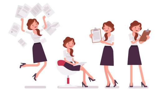 事務職女子もお金がもっとほしい!給料を上げる4つの方法